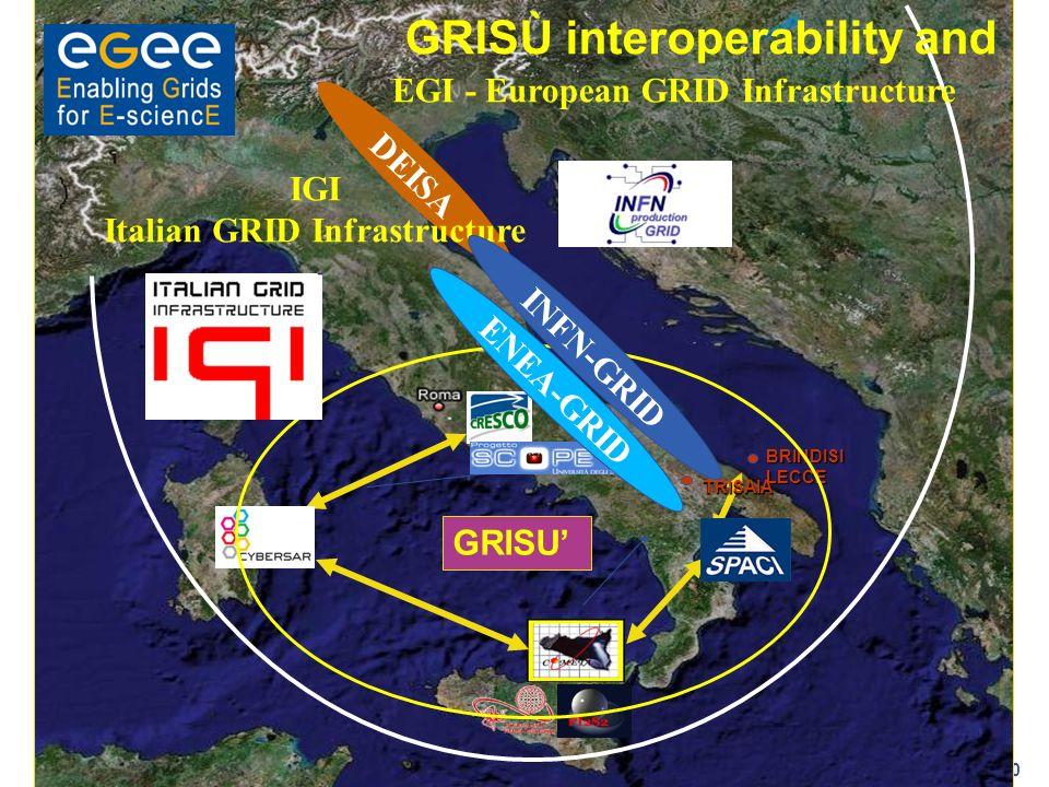 EGI - European GRID Infrastructure Italian GRID Infrastructure