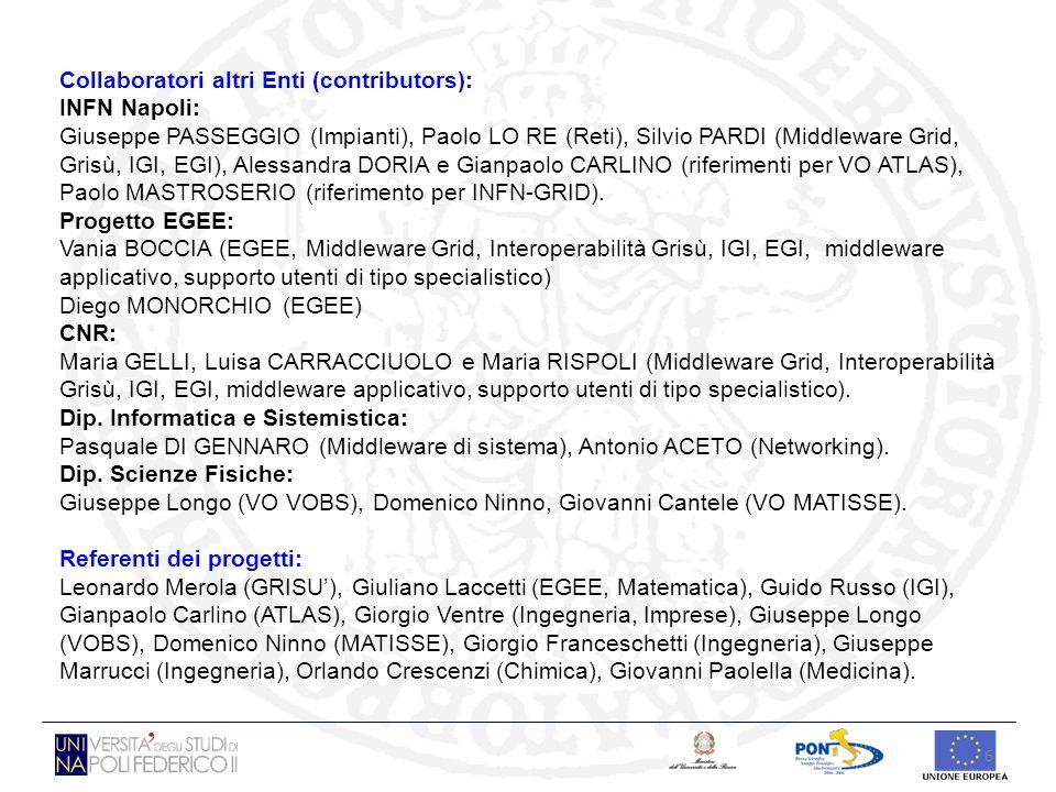 Collaboratori altri Enti (contributors):