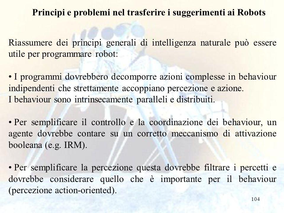 Principi e problemi nel trasferire i suggerimenti ai Robots