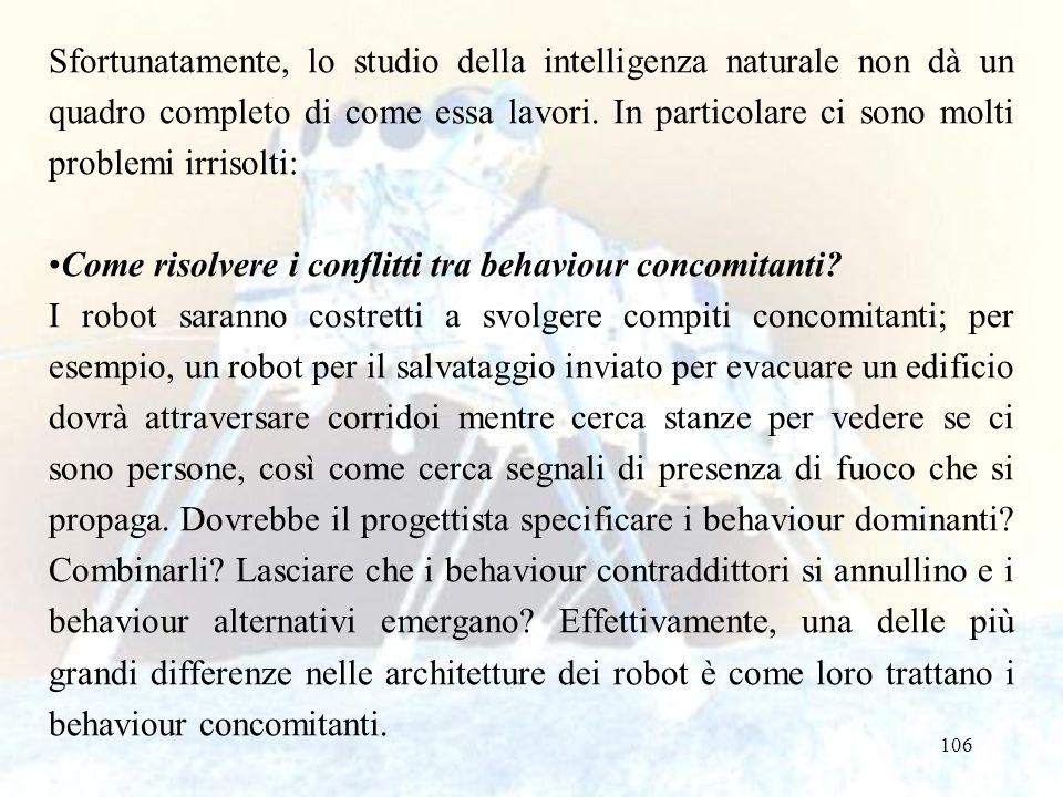 Sfortunatamente, lo studio della intelligenza naturale non dà un quadro completo di come essa lavori. In particolare ci sono molti problemi irrisolti: