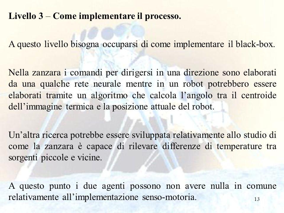 Livello 3 – Come implementare il processo.