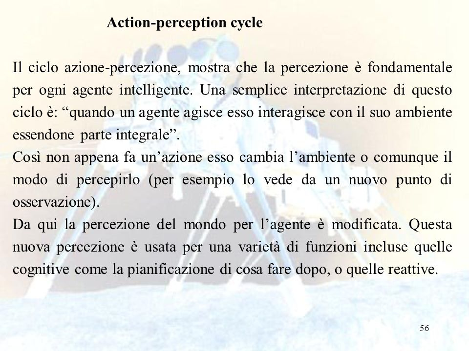 Action-perception cycle