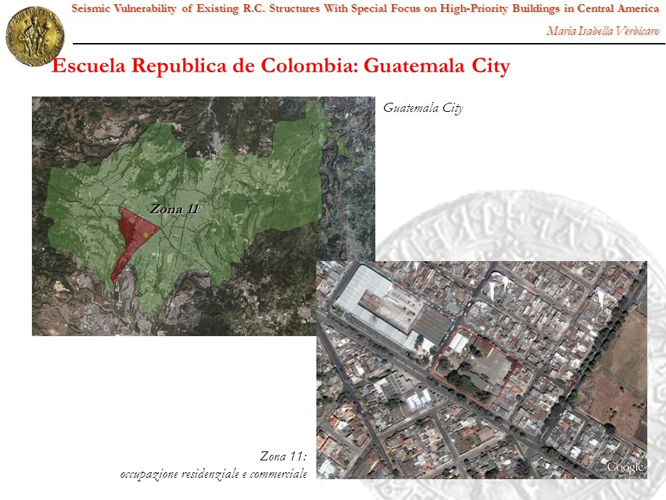 Escuela Republica de Colombia: Guatemala City