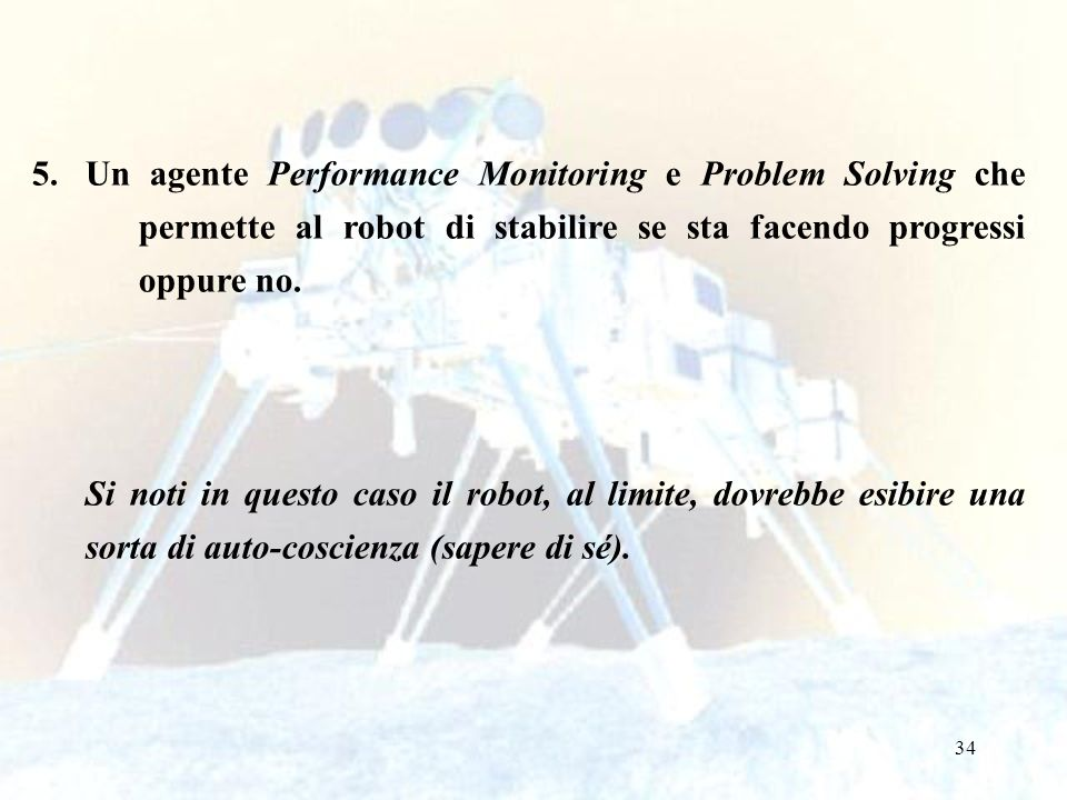 Un agente Performance Monitoring e Problem Solving che