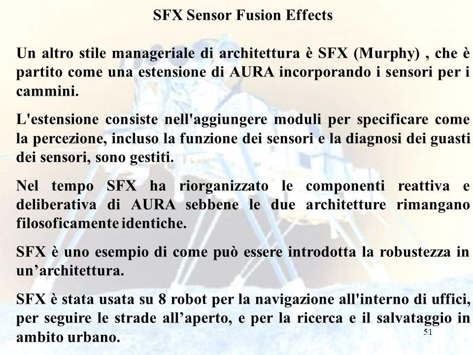 SFX Sensor Fusion Effects