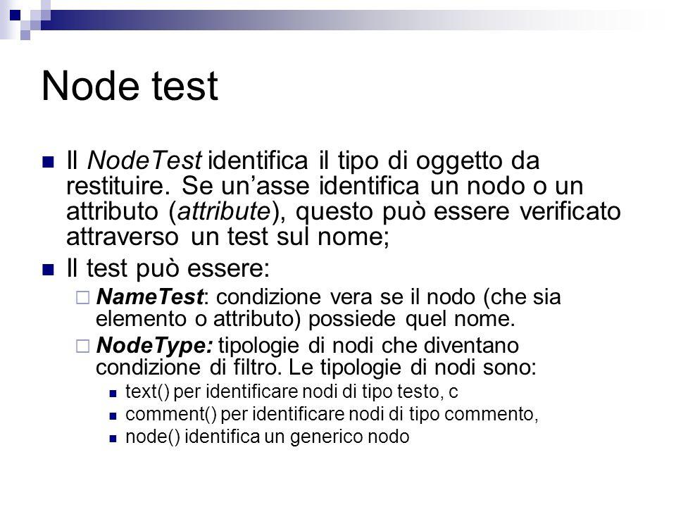 Node test