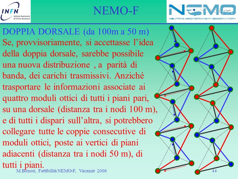 DOPPIA DORSALE (da 100m a 50 m)