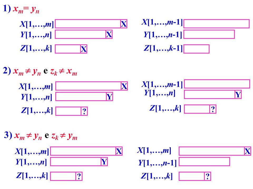 1) xm= yn 2) xm  yn e zk  xm 3) xm  yn e zk  ym
