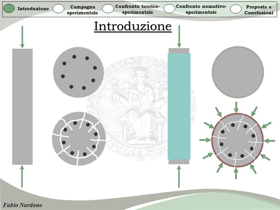 Introduzione Fabio Nardone Campagna sperimentale
