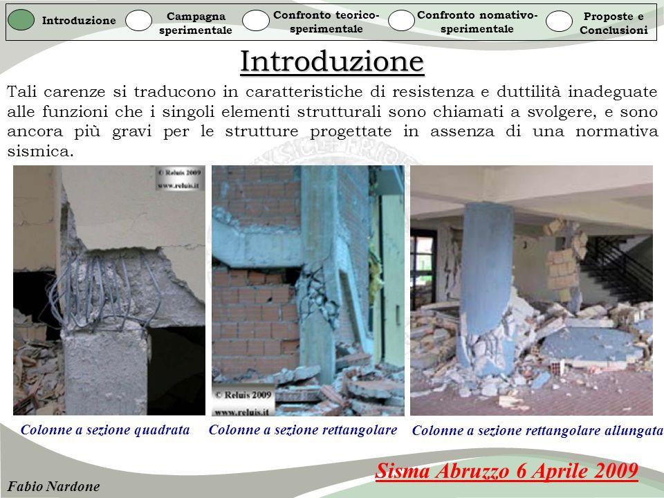 Introduzione Sisma Abruzzo 6 Aprile 2009