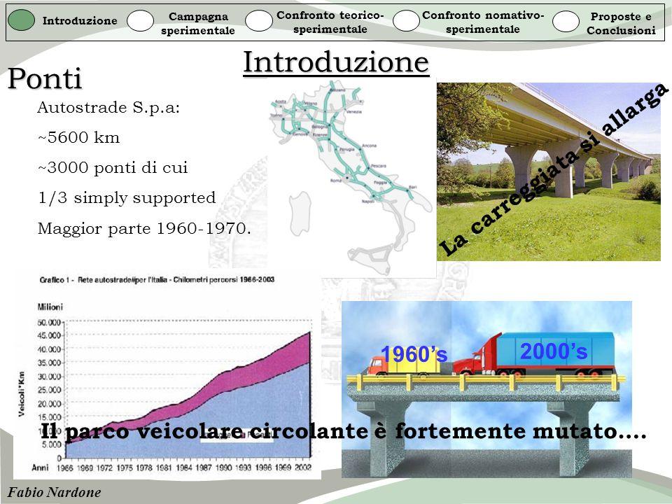 Introduzione Ponti La carreggiata si allarga 2000's 1960's