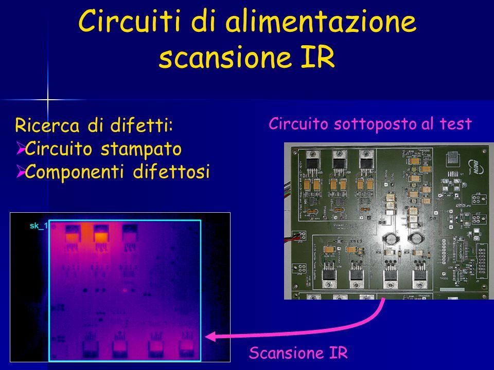 Circuiti di alimentazione scansione IR
