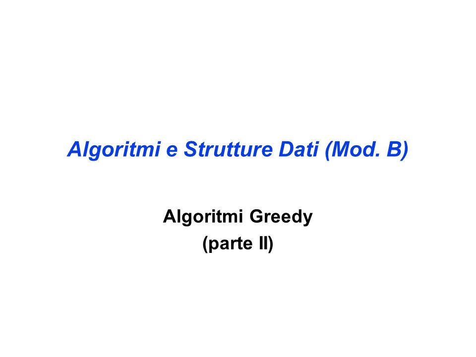 Algoritmi e Strutture Dati (Mod. B)