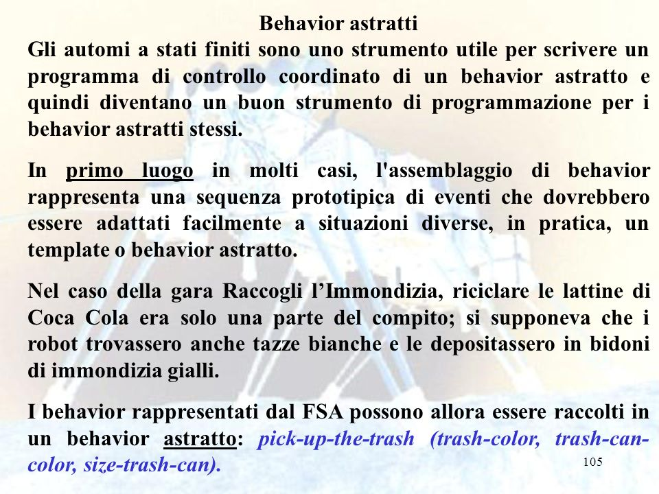Behavior astratti