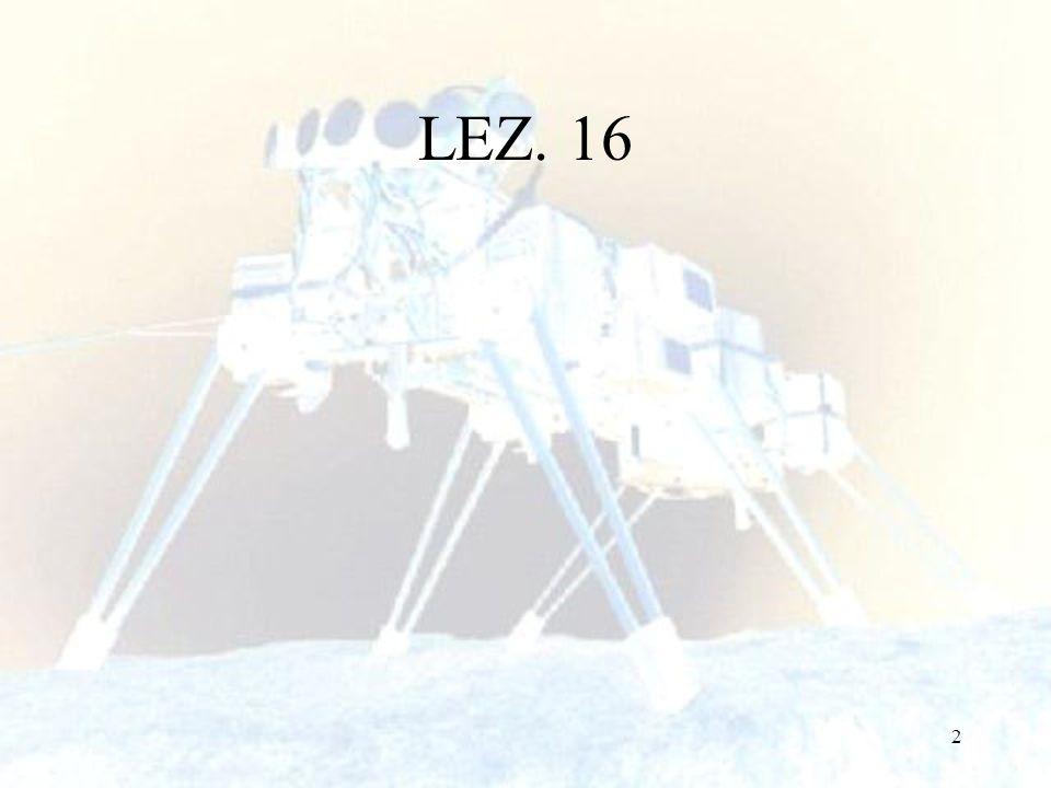 LEZ. 16