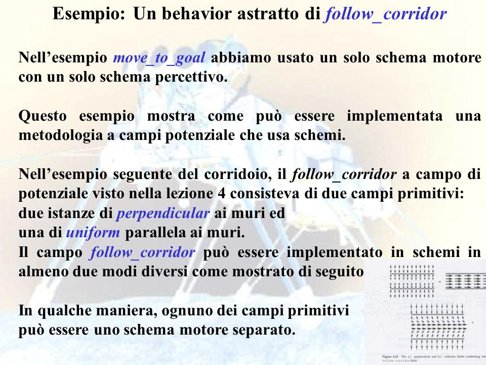 Esempio: Un behavior astratto di follow_corridor
