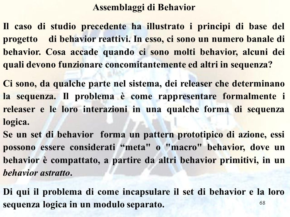 Assemblaggi di Behavior