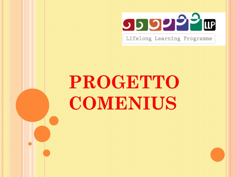 PROGETTO COMENIUS