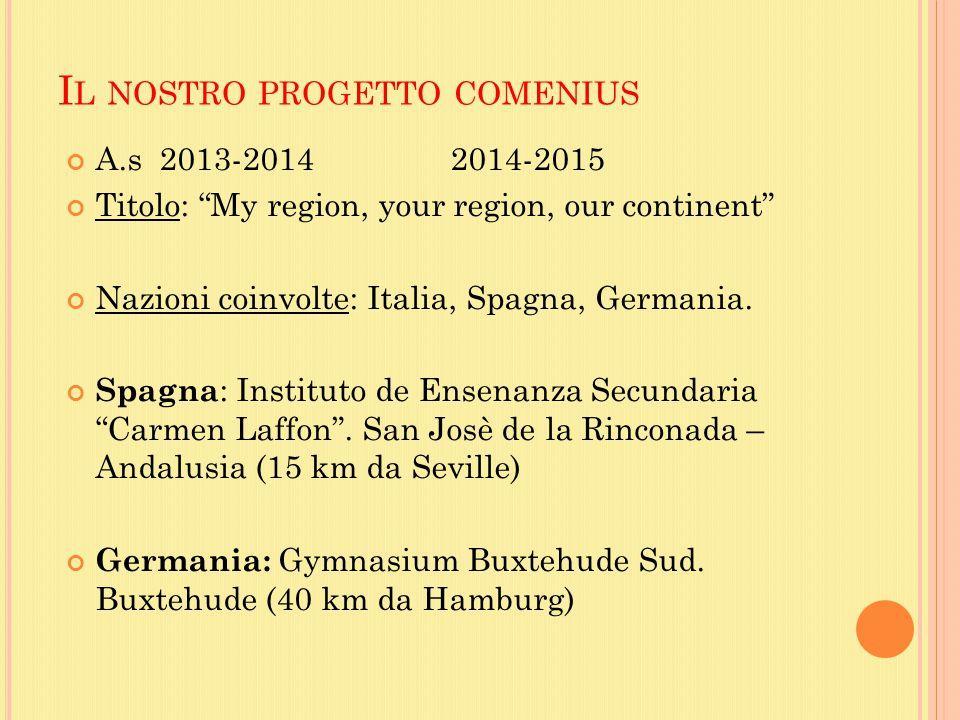 Il nostro progetto comenius