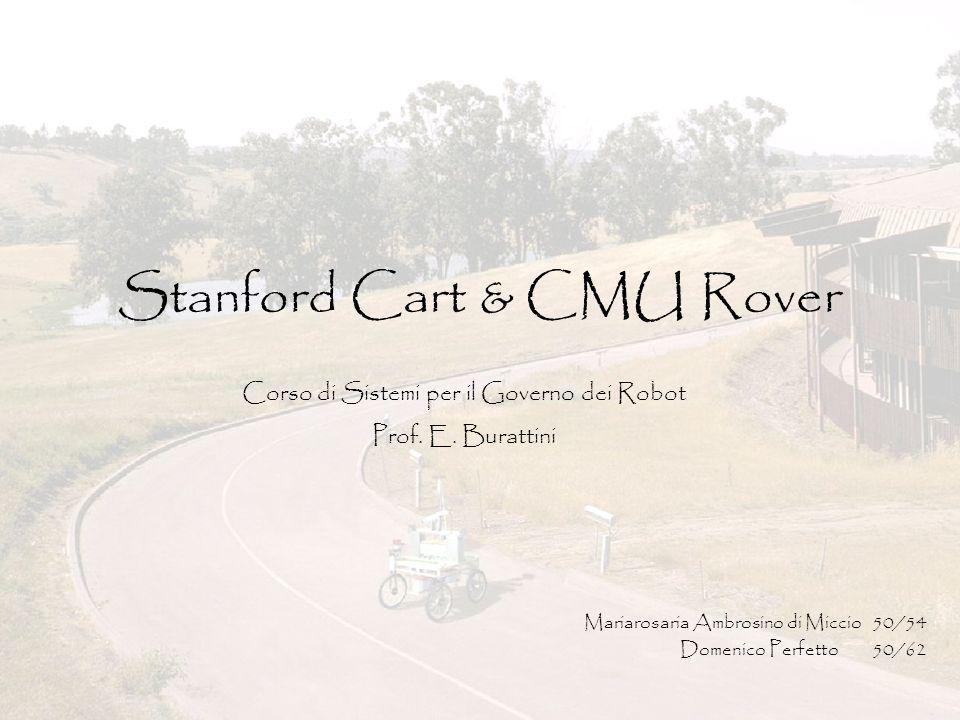 Stanford Cart & CMU Rover