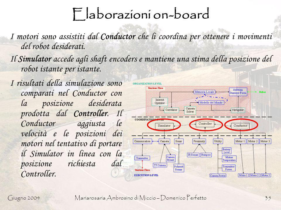 Elaborazioni on-board