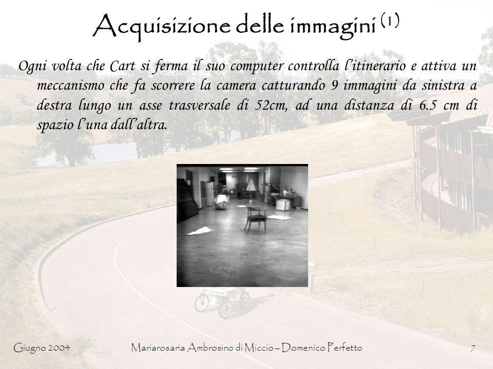 Acquisizione delle immagini (1)