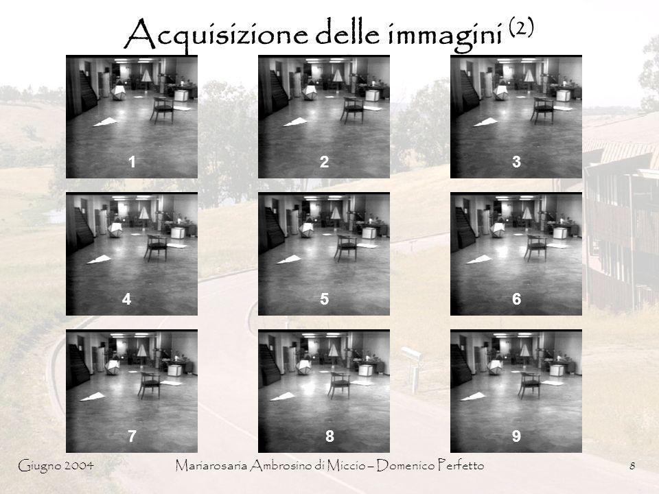 Acquisizione delle immagini (2)