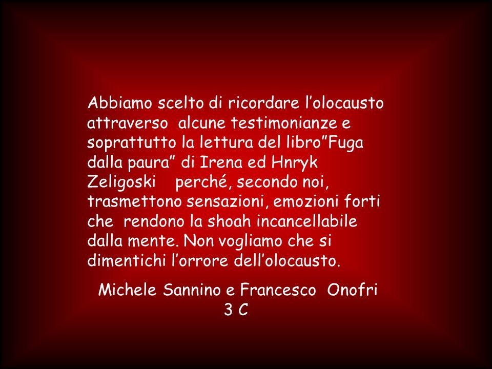 Michele Sannino e Francesco Onofri 3 C