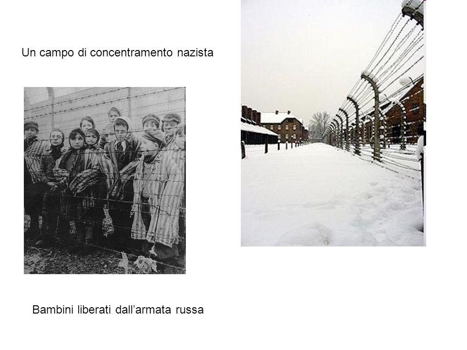Un campo di concentramento nazista