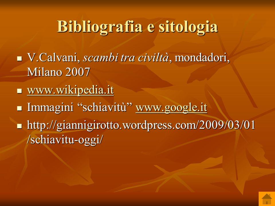 Bibliografia e sitologia