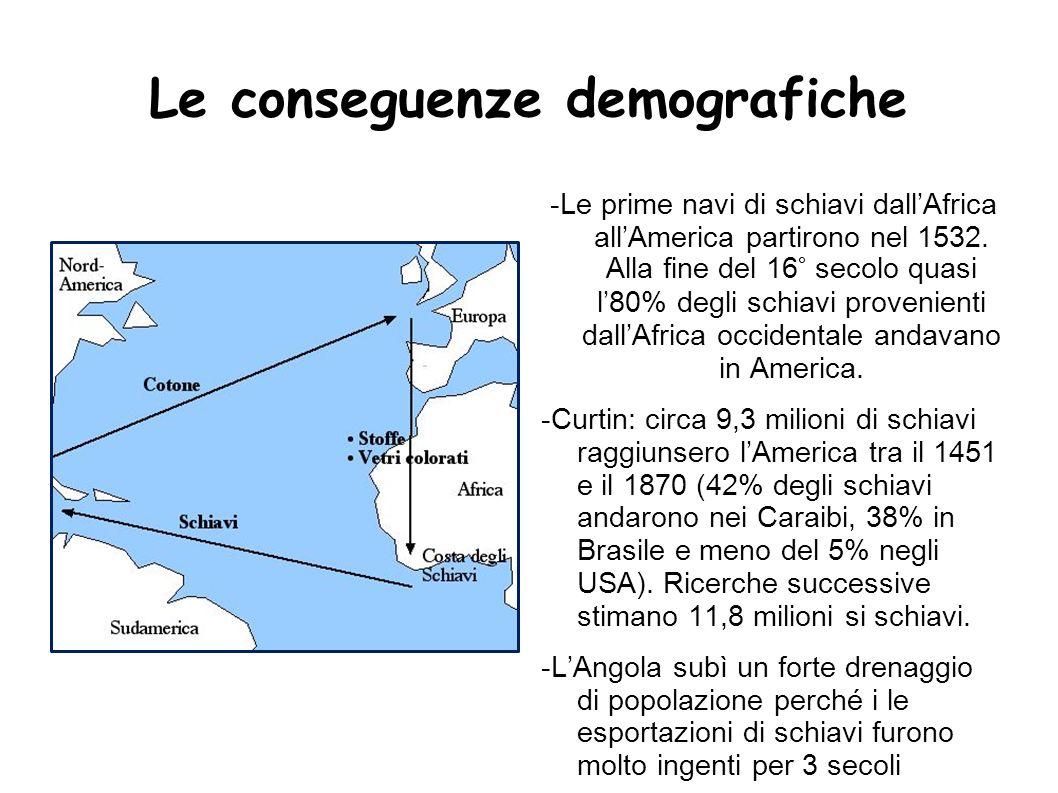 Le conseguenze demografiche
