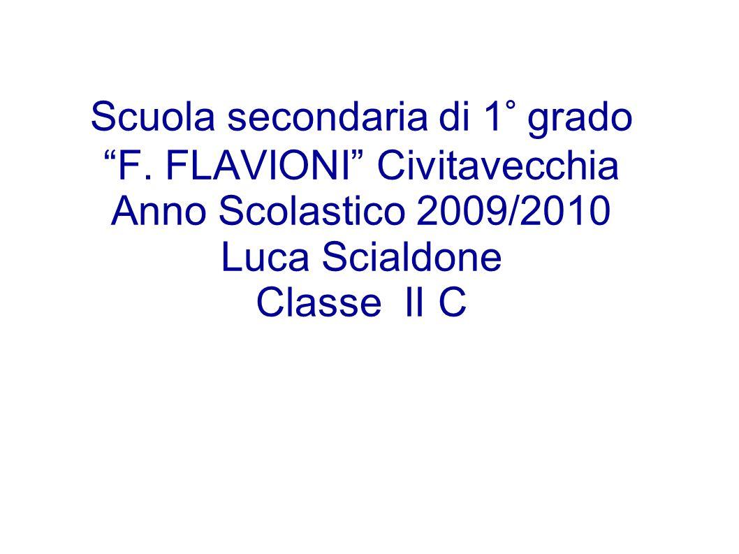 Scuola secondaria di 1° grado F