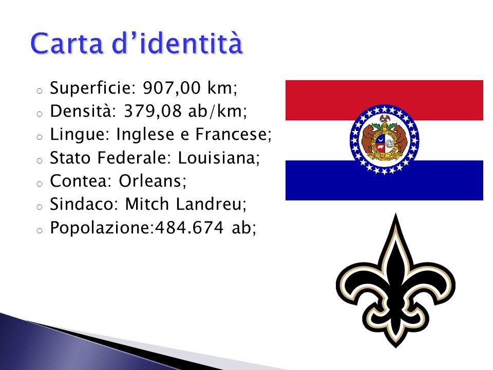 Carta d'identità Superficie: 907,00 km; Densità: 379,08 ab/km;
