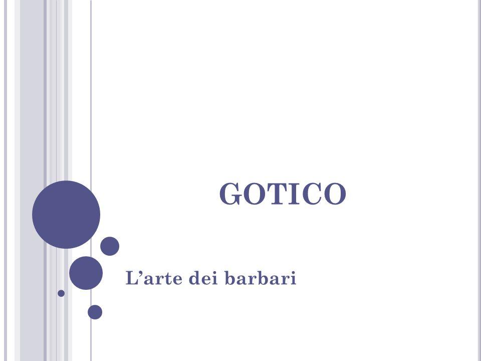 gotico L'arte dei barbari