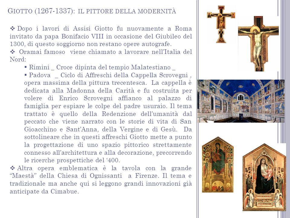 Giotto (1267-1337): il pittore della modernità