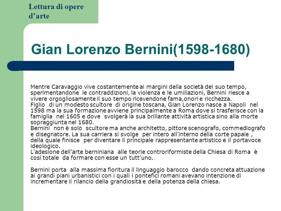 Gian Lorenzo Bernini(1598-1680)