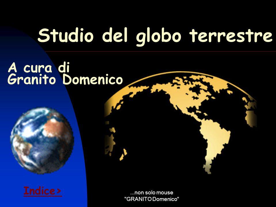 Studio del globo terrestre