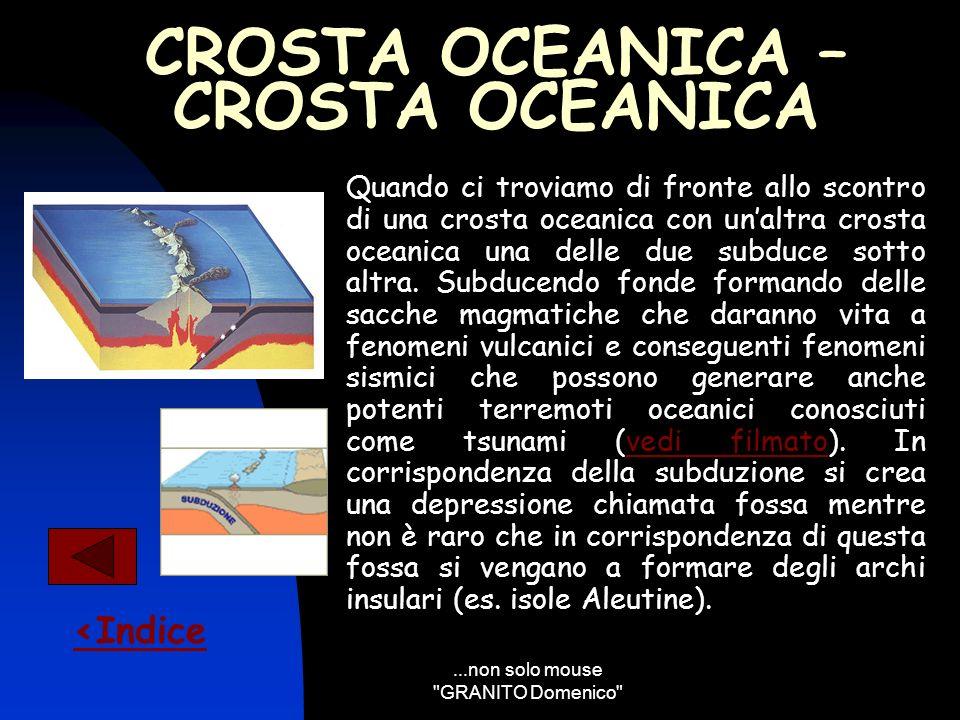 CROSTA OCEANICA – CROSTA OCEANICA