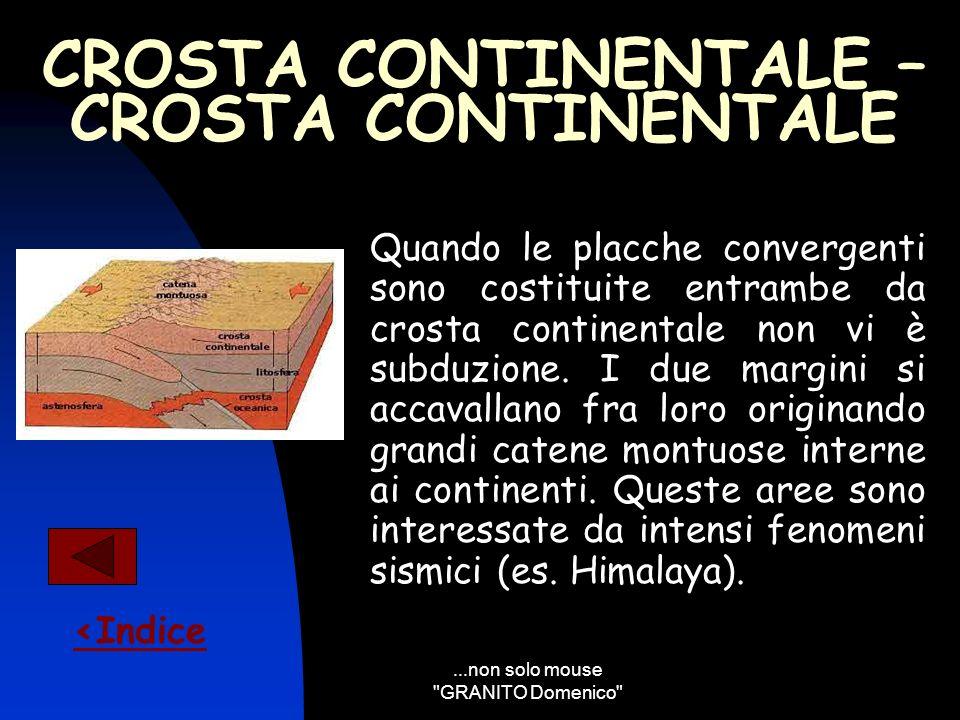 CROSTA CONTINENTALE – CROSTA CONTINENTALE