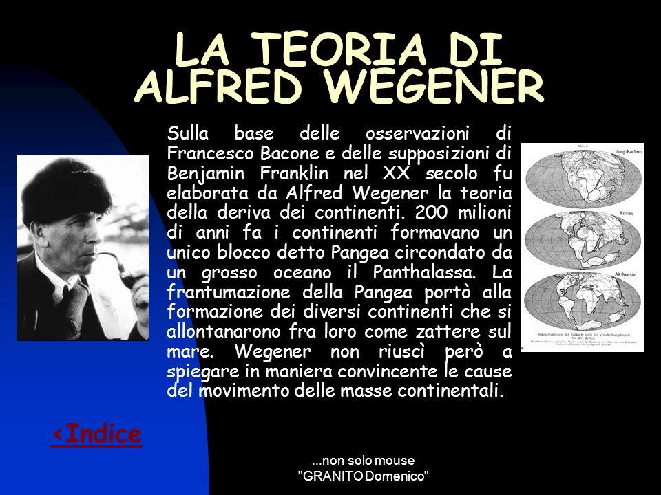 LA TEORIA DI ALFRED WEGENER