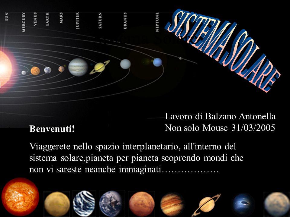 Sistema Solare SISTEMA SOLARE