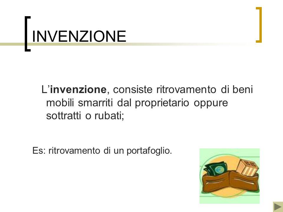 INVENZIONE L'invenzione, consiste ritrovamento di beni mobili smarriti dal proprietario oppure sottratti o rubati;