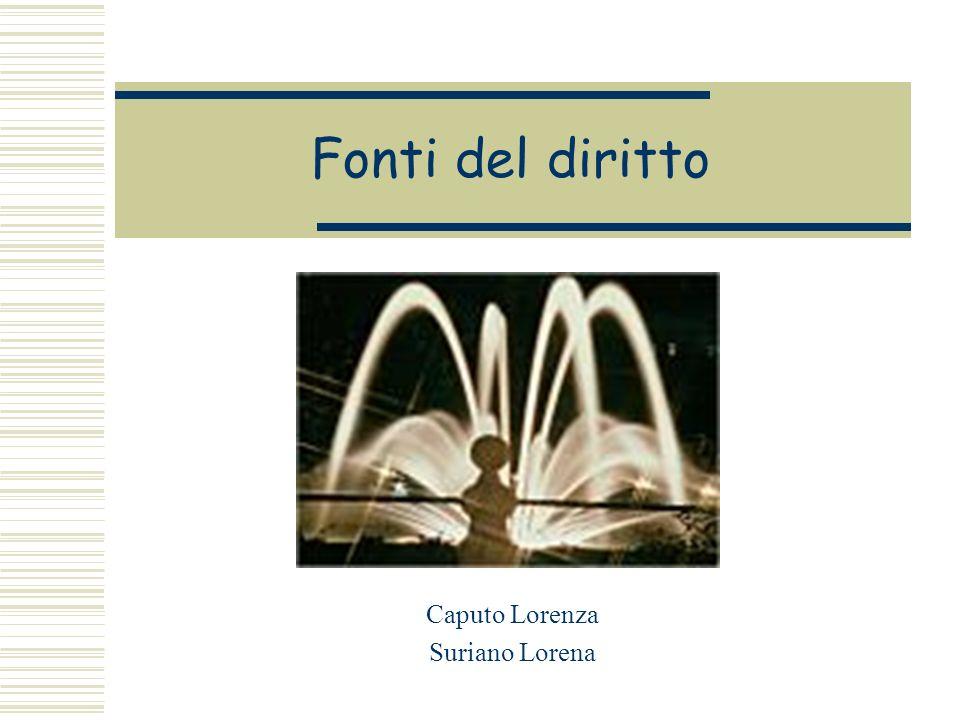 Caputo Lorenza Suriano Lorena
