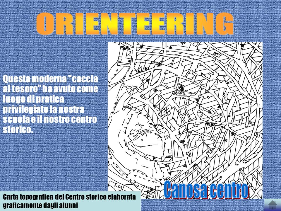 ORIENTEERING Canosa centro