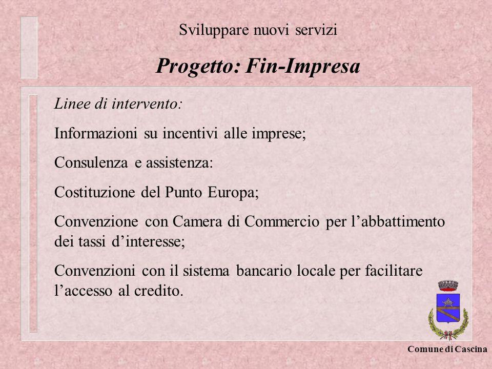 Progetto: Fin-Impresa