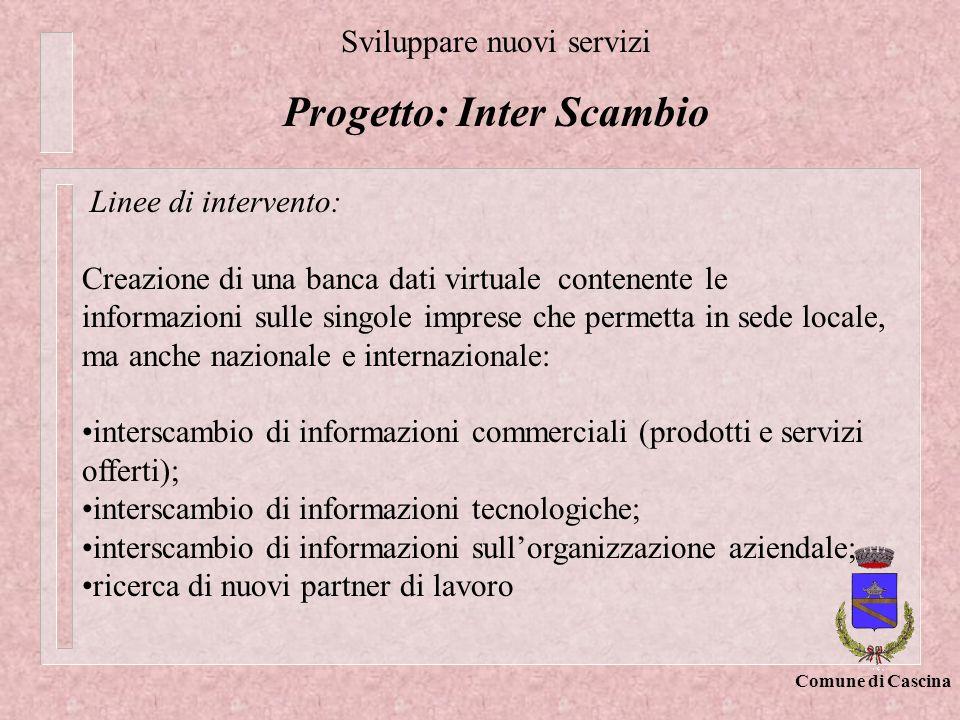 Progetto: Inter Scambio