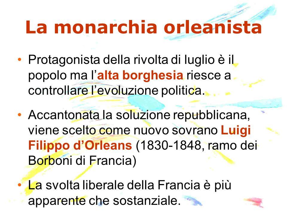 La monarchia orleanista