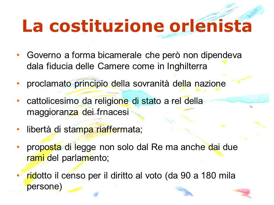 La costituzione orlenista