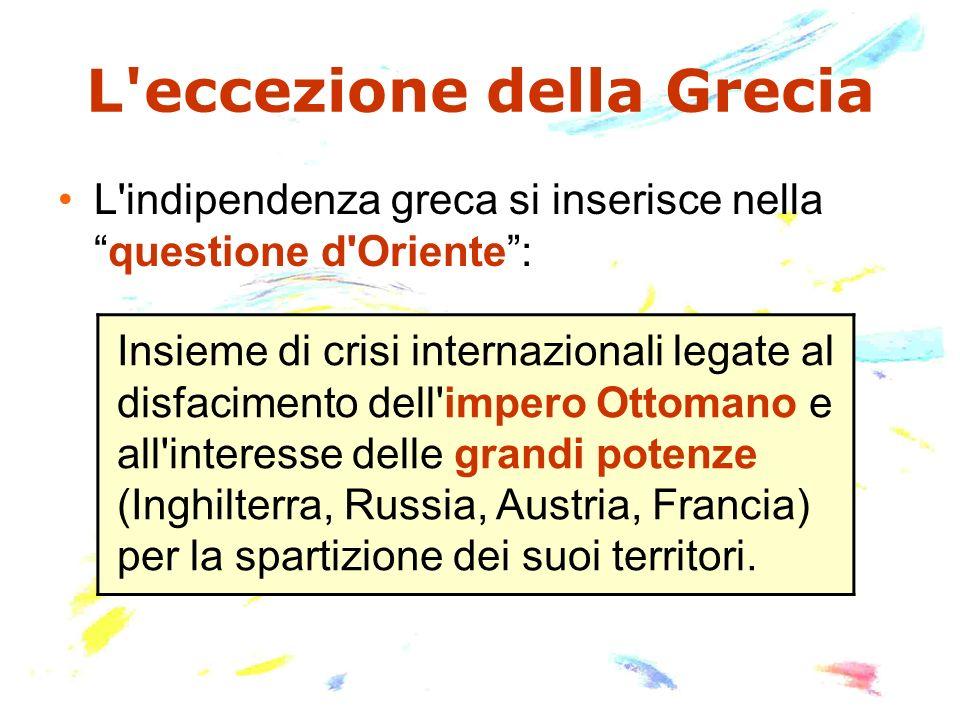 L eccezione della Grecia