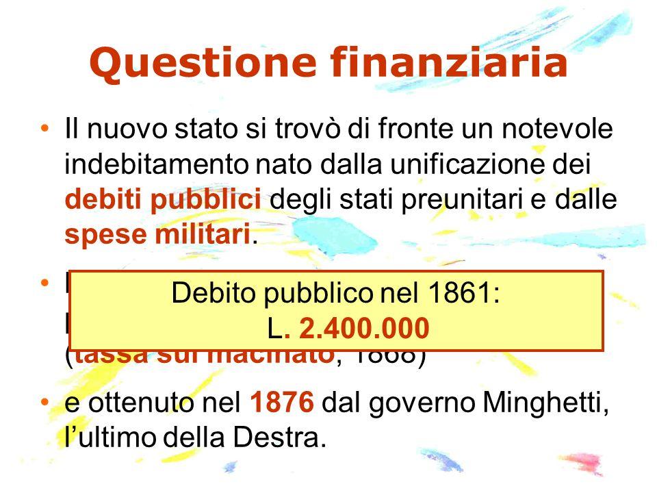 Questione finanziaria